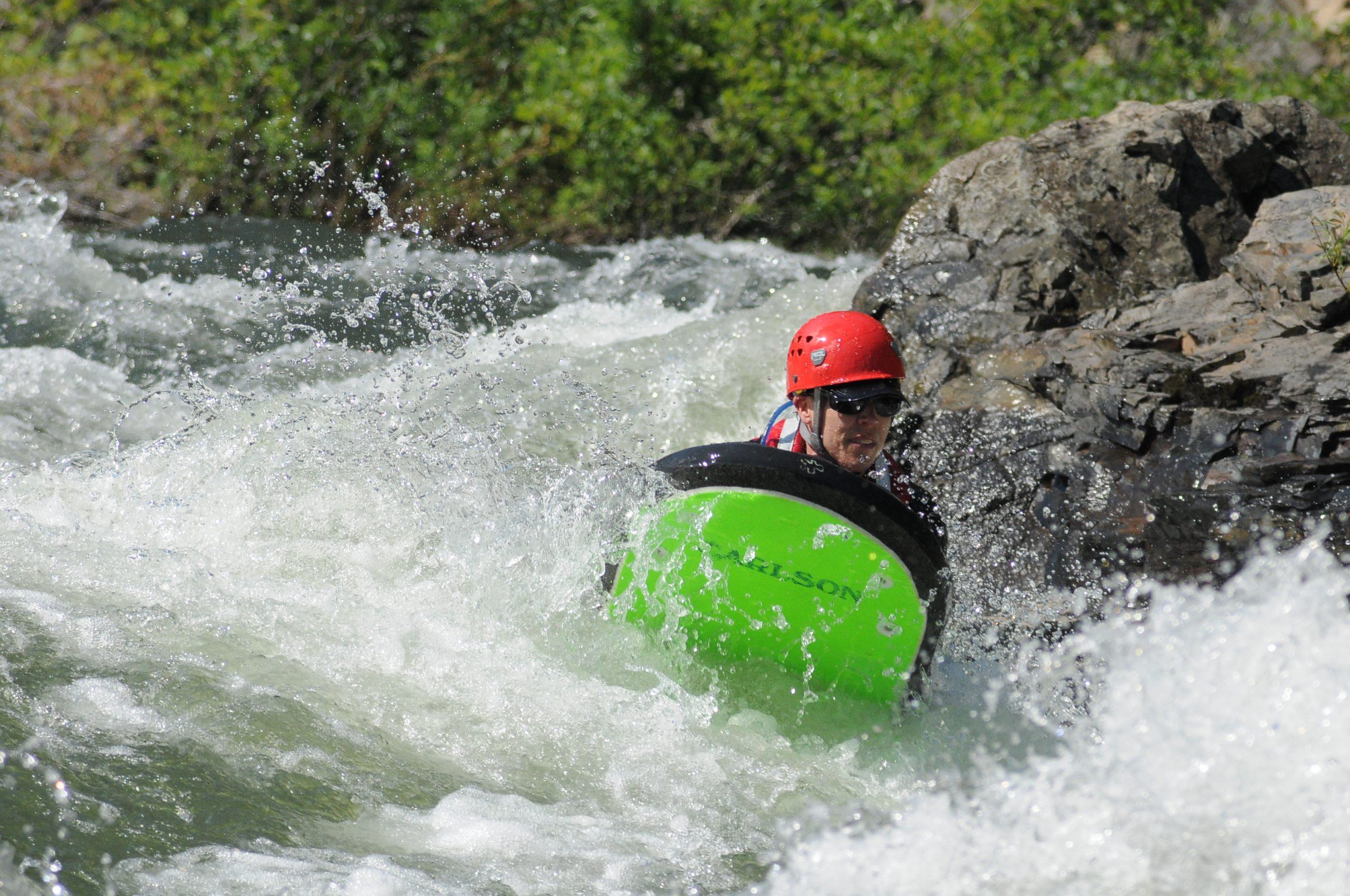 Jason riverboarding horiz.