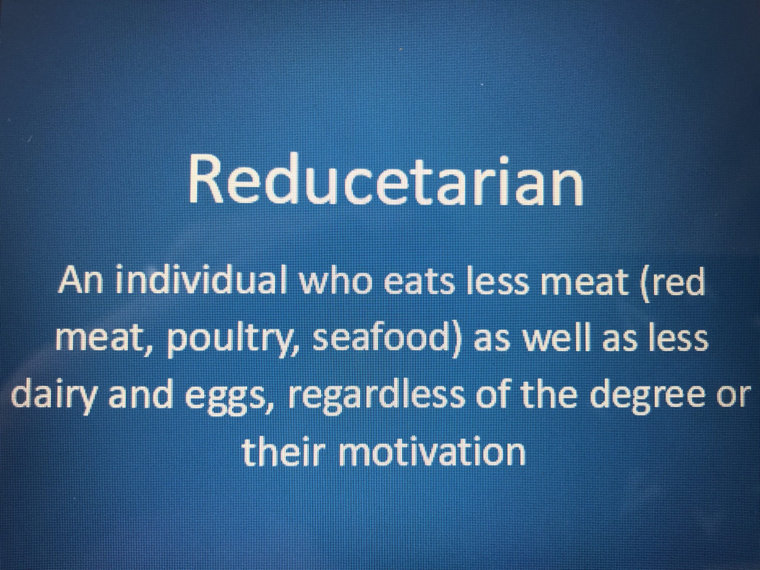 Reduce your meat consumption