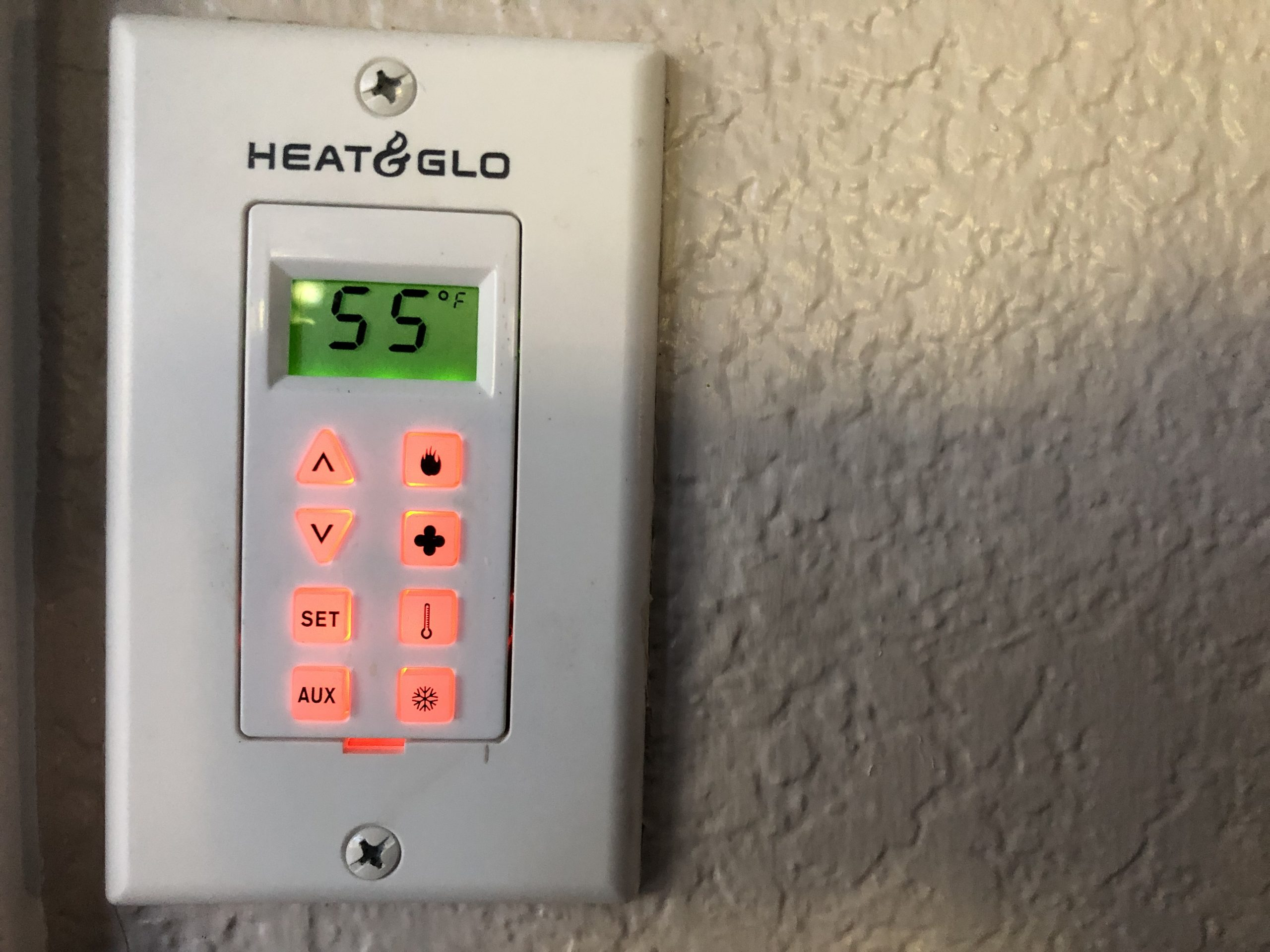 Keep the thermostat in your house set to 55 degrees during the winter and 80 degrees Fahrenheit during the summer.   (Consult a doctor first if you have health concerns).